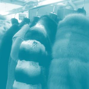 custodia professionale pellicce e altri capi